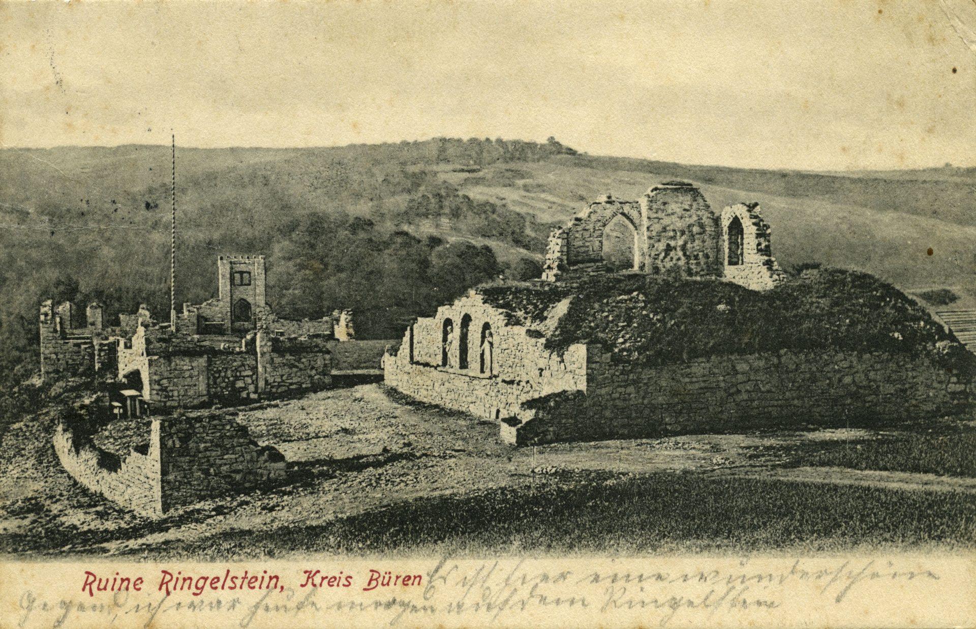 Ringelstein Postkarte 1908