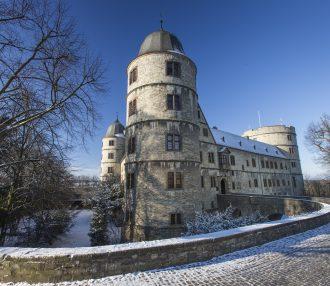 Wewelsburg im Winter