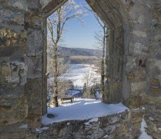 rgruine Ringelstein im Winter